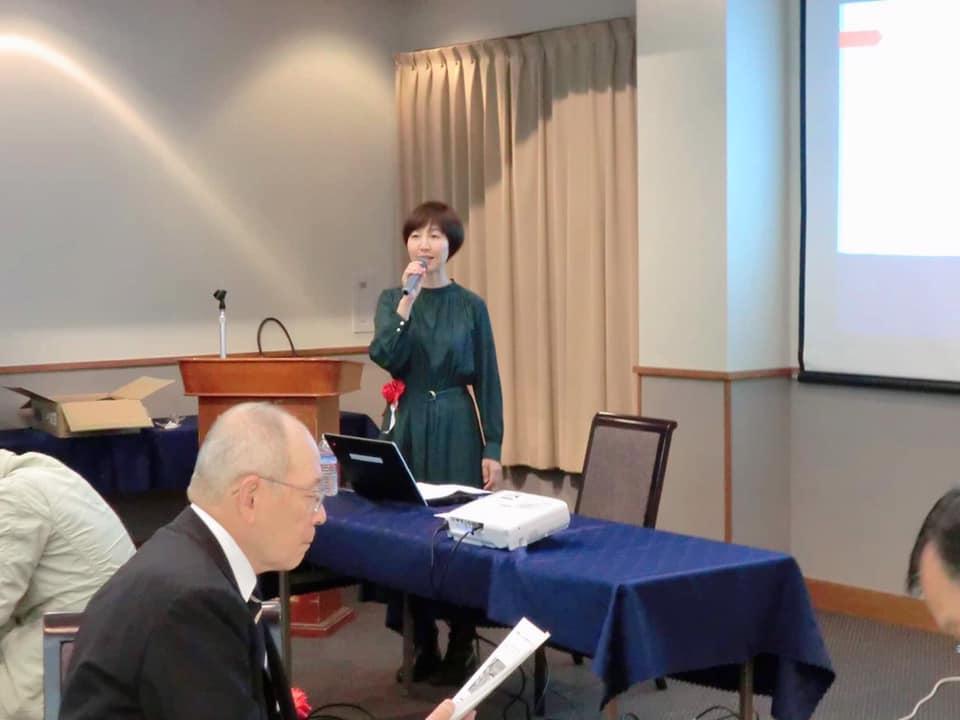 第20回関西学院同窓会寝屋川支部総会で短歌の講演をさせていただきました